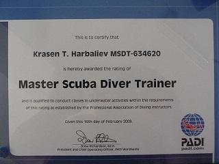 Master Diver Krasen
